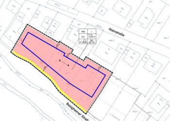 Bebauungsplanänderung Freudental Besigheimerstraße