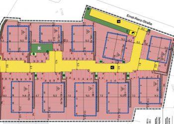 Bebauungsplan Bruchsal Ernst-Renz-Straße
