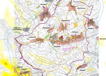 Teil-Flächennutzungsplan Straubenhardt Windenergie